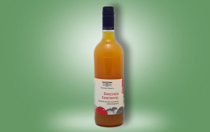 "Apfelsaft ""Danziger Kantapfel"" Flasche"