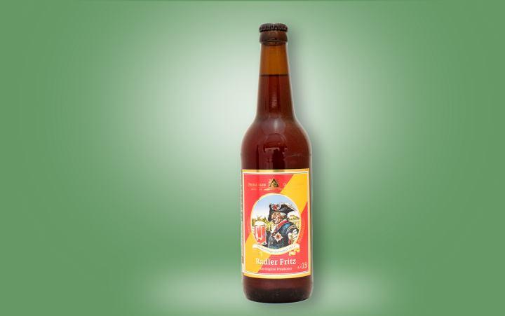Radler Fritz (Pilsner + Himb./Kirschlimo) Flasche 0,5l