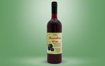 Brombeerwein Flasche 0,75l