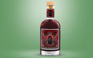 Grumsiner Sauerkirschlikör 20% vol. Flasche