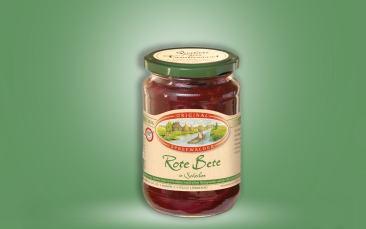 Rote Bete in Scheiben Glas 370ml