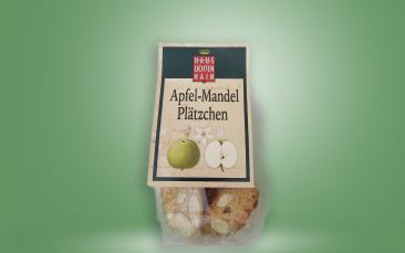 Apfel-Mandel-Plätzchen
