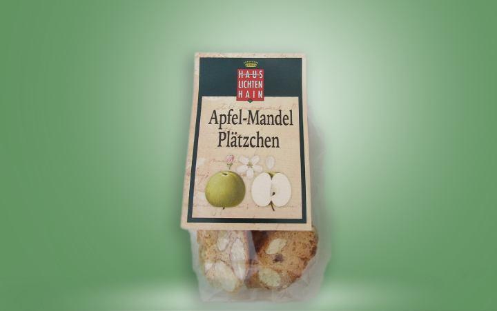 Apfel Mandel Plätzchen Tüte 28g