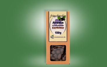 Aroniabeeren in Zartbitter-Schokolade