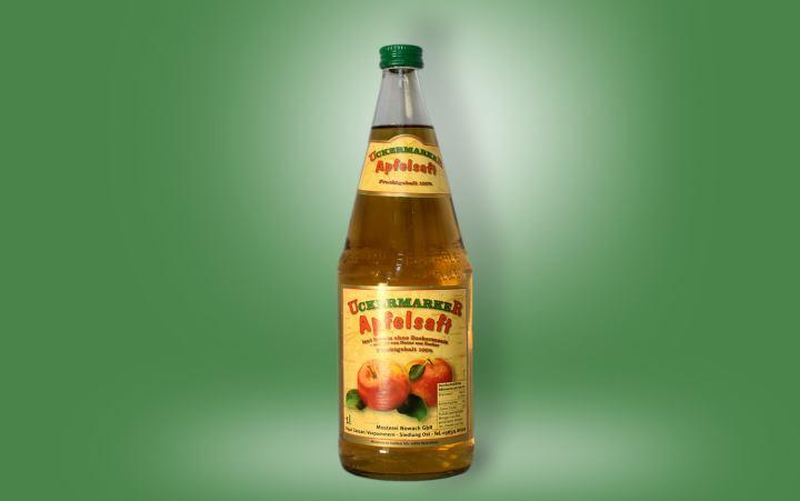 Apfelsaft-klar Flasche 1l
