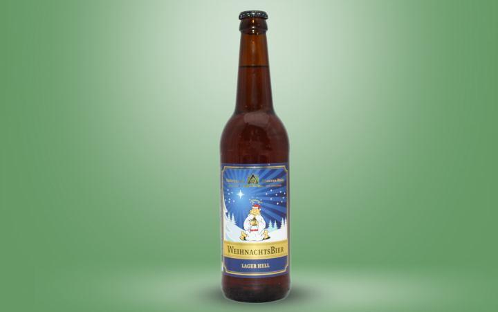 Weihnachtsbier, Lager hell Flasche 0,5l