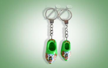 Schlüsselanhänger grün Stück
