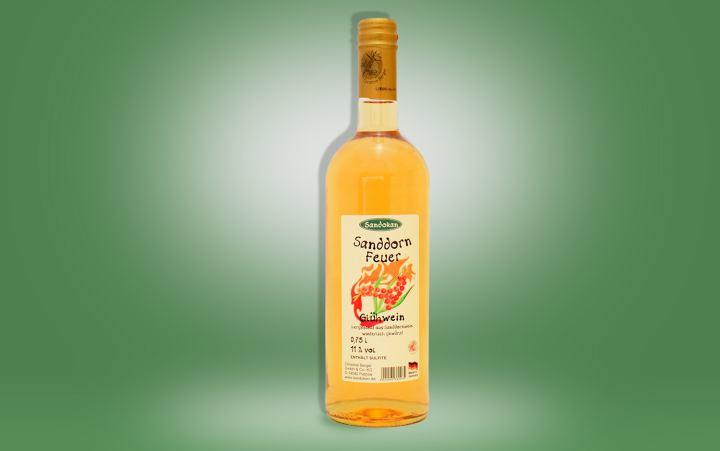 Sanddornfeuer (Glühwein) Flasche 0,75l