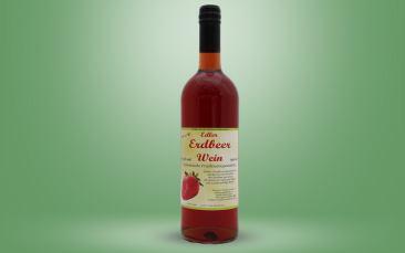 Erdbeerwein Flasche 0,75l