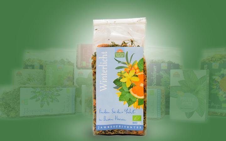 Winterlicht-Bio-Tee (Jahreszeitentee) Tüte 60g