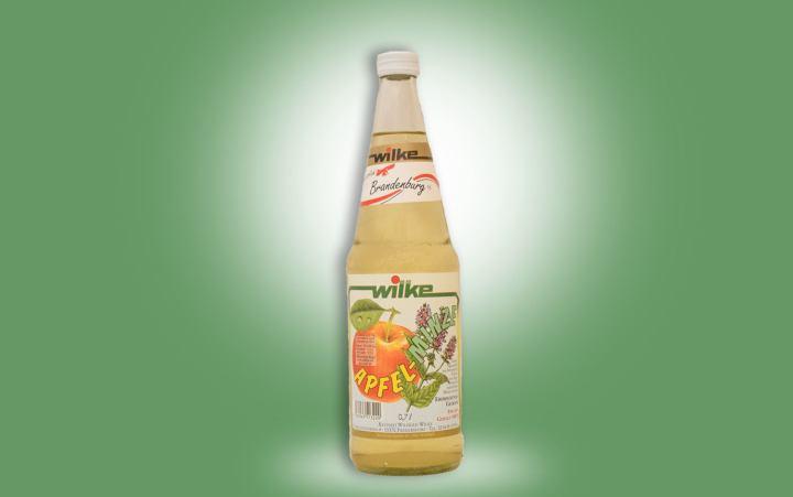 Apfel-Minze Getränk 0,7l Flasche
