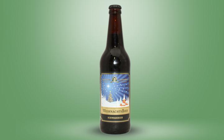 Weihnachtsbier, Schwarzbier Flasche 0,5l
