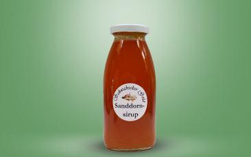 Sanddorn Sirup Flasche 0,25l