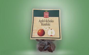 Apfel-Schoko-Konfekt