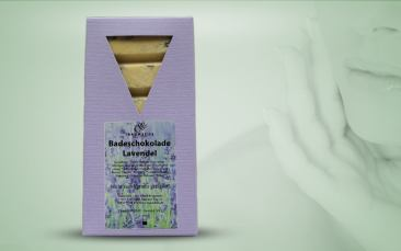 Badeschokolade-Lavendel 100g
