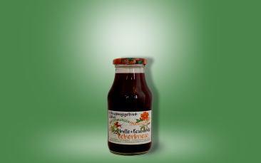Uckerbriese-Hagebutte-Rosenblüte