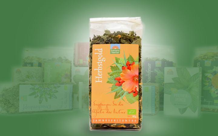 Herbstgold-Bio-Tee (Jahreszeitentee) Tüte 60g