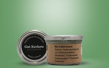 Bio Leberwurst Glas 160g
