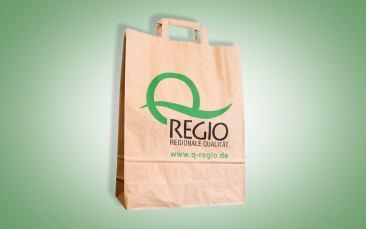 Q-Regio Tragetasche (Papier)