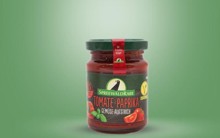 Tomate Paprika Gemüseaufstrich Glas 135g