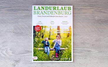 Broschüre Landurlaub Brandenburg