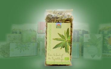 Zitronenverbene-Bio-Tee Tüte 50g