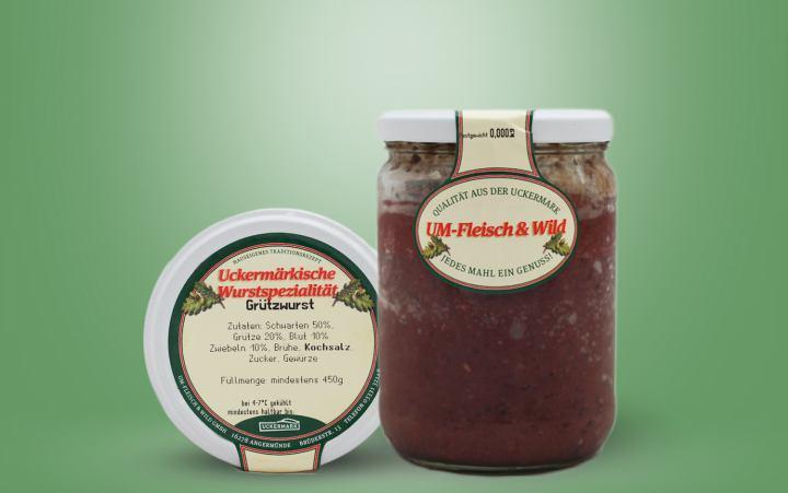 Grützwurst (UM) im Glas 450g