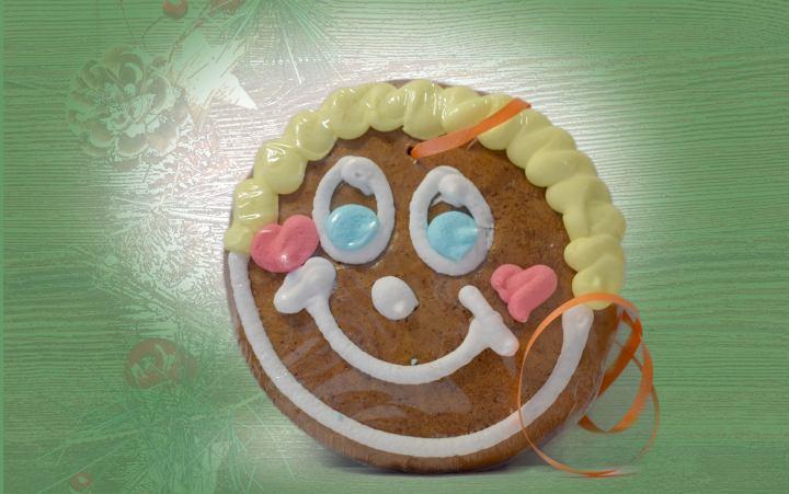 Pfefferkuchen-Smiley