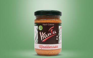 HanFu Bio-Hanf-Creme mediterran Glas 145g
