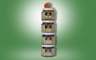 Apfel-Gelee-Sorten (4x50g Rolle)