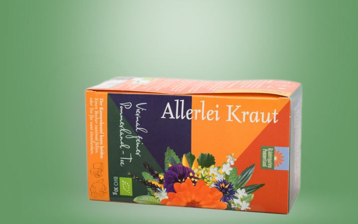 Allerlei Kraut (Bio-Tee Mischung) Kannenbeutel 30g