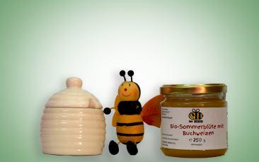 Kleine Honigdose + Honig 250g