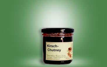 Kirsch-Chutney in Glas