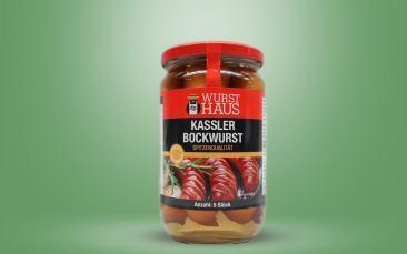 Kassler-Bockwurst (Loitz) im Glas 650g