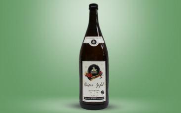Heißer Apfel - weinhaltiges Heißgetränk 5,4% Flasche 1l