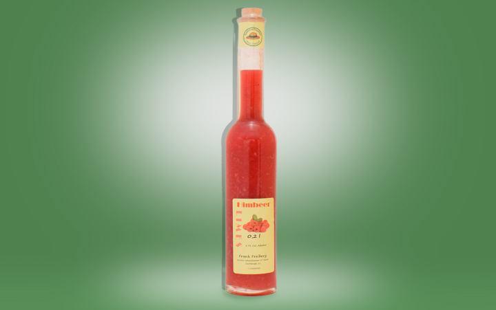 Himbeer-Limes 17%vol. Flasche 0,2l