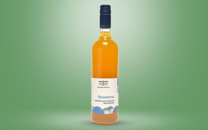 """Apfelsaft """"Bohnapfel"""" Flasche"""
