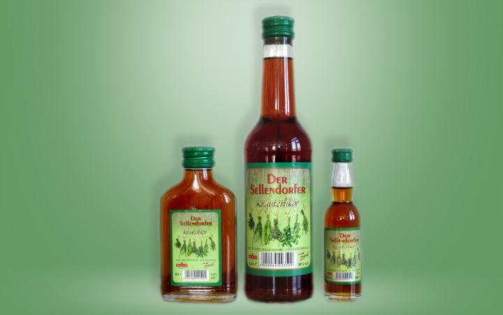 Der Sellendorfer Kräuterlikör 30%vol. Flasche