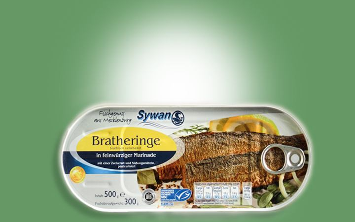 Brathering in Marinade 500g