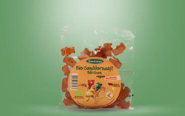 Bio-Sanddornsaft-Bärchen Tüte 100g