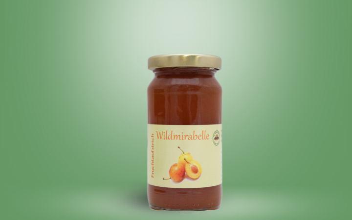 Wildmirabelle Fruchtaufstrich Glas 235g