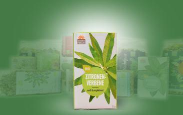 Zitronenverbene-Bio-Tee im Kannenbeutel