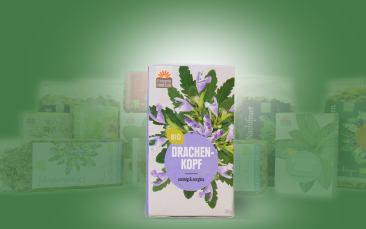 Drachenkopf-Bio-Tee im Kannenbeutel