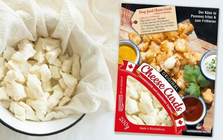 Cheese Curds Schale 200g