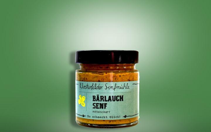 Bärlauchsenf Glas 190ml