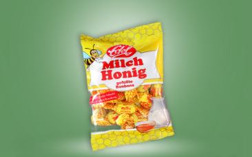 Edel-Milch-Honig-Bonbon Tüte 100g