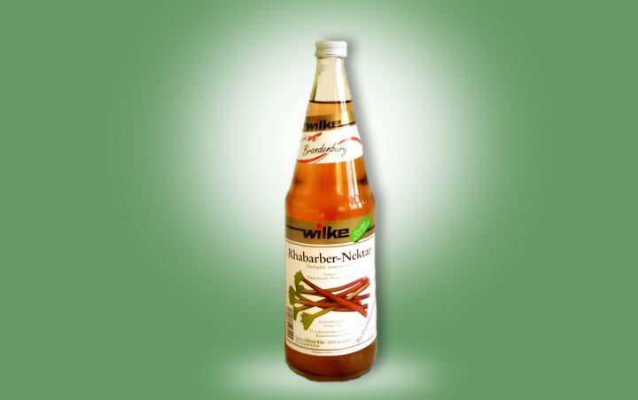 Rhabarbersaft 0,7l Flasche