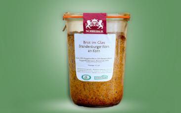 Brandenburger Korn an Korn - Brot im Glas 400g