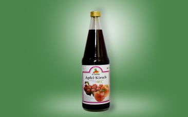 Apfel-Kirsch-Saft Flasche 0,7l