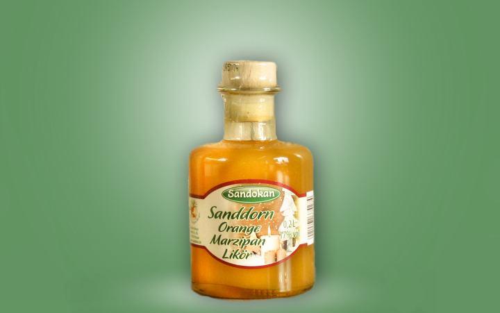 Sanddorn-Orange-Marzipan-Likör
